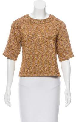 Veda Metallic Knit Top w/ Tags