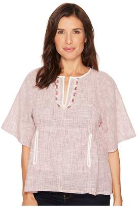 Bobeau B Collection by Willie Peasant Blouse Women's Blouse