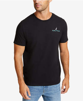 Nautica Men's Latitude and Longitude Graphic T-Shirt