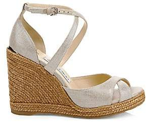 Jimmy Choo Women's Alanah Espadrille Wedges
