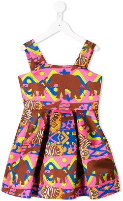 Mi Mi Sol elephant patterned dress
