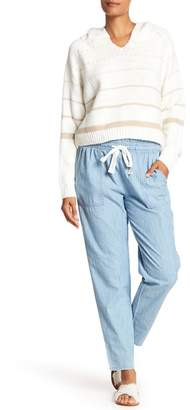 Vince Camuto Drawstring Cotton Pants