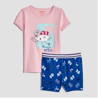 Joe Fresh Toddler Girls' Short Sleeve Sleep Set