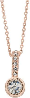 Lauren Conrad Simulated Crystal Circle Pendant Necklace