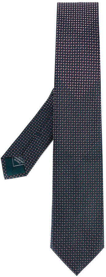 BrioniBrioni geometric pattern tie