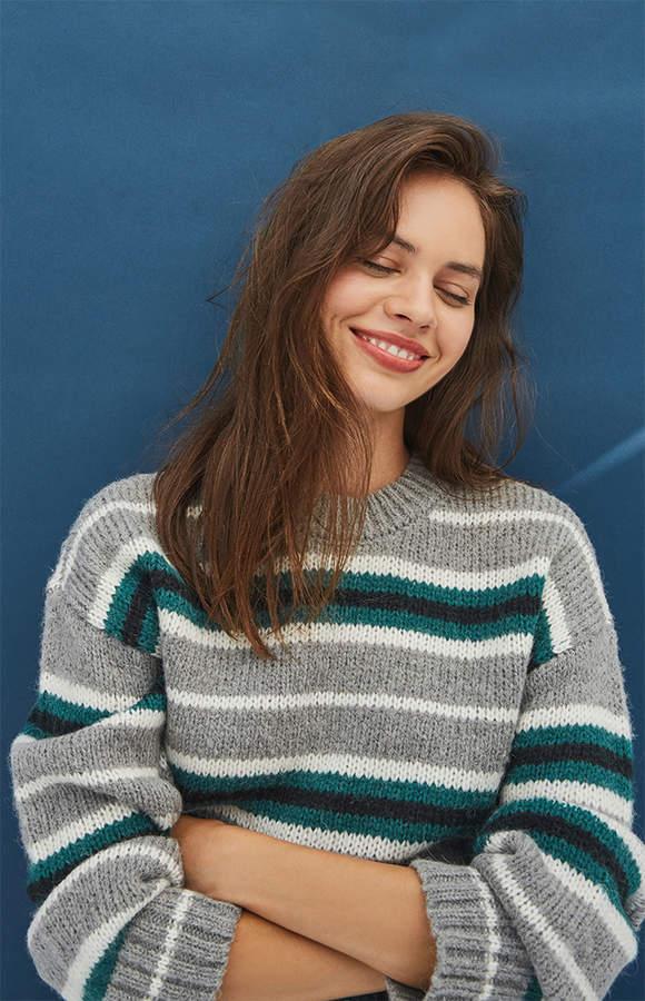 La Hearts Rewind Crew Neck Sweater