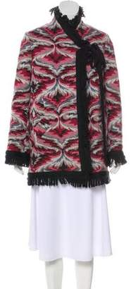 Missoni Wool Button-Up Coat