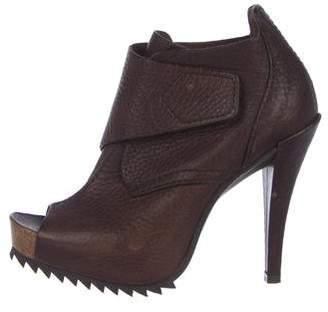 Pedro Garcia Chenoa Leather Booties
