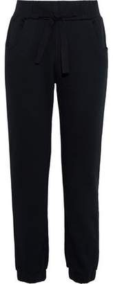 RED Valentino French Cotton-Blend Terry Track Pants
