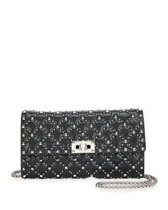 Valentino Spike.It Micro-Stud Quilted Crossbody Bag