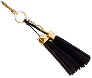 Brian Atwood Paige Leather Tassel Charm