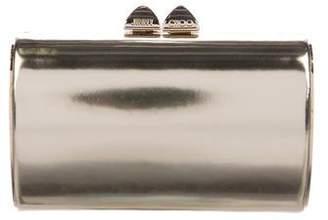 Jimmy Choo Metallic Mini Charm Clutch