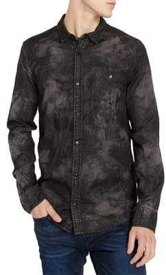 Buffalo David Bitton Sacamer-X Woven Button-Down Shirt