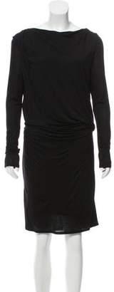 Helmut Lang HELMUT Long Sleeve Mini Dress