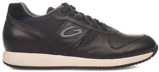 Alberto Guardiani Black Sport Man Fresno Leather Sneakers