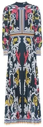 Mary Katrantzou Printed crêpe dress