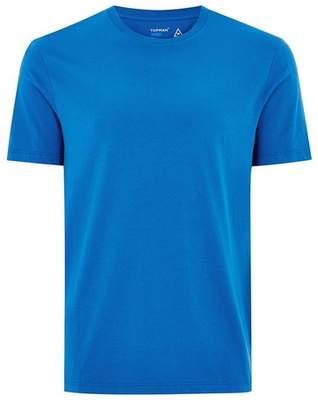 Topman Mens Navy Cobalt Blue Slim T-Shirt