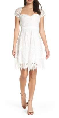 Foxiedox Bravo Zulu Lace Sweetheart Cocktail Dress