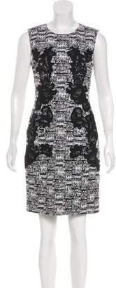 Diane von Furstenberg Printed Knee-Length Sheath Dress
