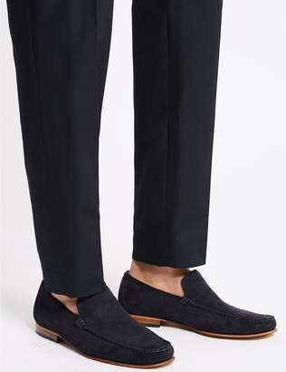 Marks and Spencer Extra Wide Fit Suede Loafers