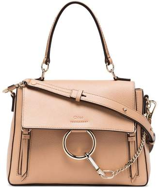 Chloé light caramel Faye small shoulder bag