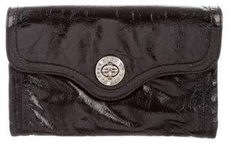 Marc Jacobs Patent Leather Travel Wallet