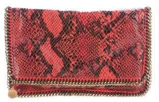 Stella McCartney Alter Snake Falabella Clutch w/ Tags