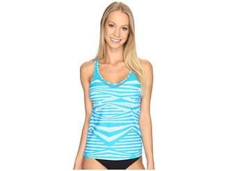 Speedo Mesh Tankini Top Women's Swimwear