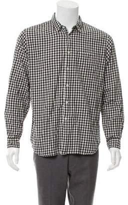 Margaret Howell Gingham Flannel Shirt