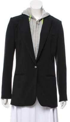 Veronica Beard Sweatshirt-Accented Blazer