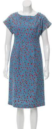 Muveil Strawberry Print Sheath Dress w/ Tags