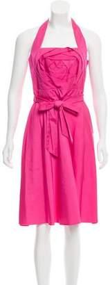 Valentino Halter Midi Dress w/ Tags