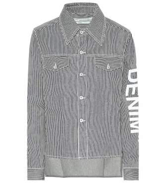 Off-White Striped denim shirt