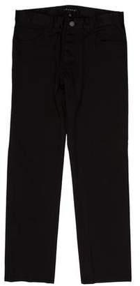 Theory Five-Pocket Straight-Leg Chino Jeans
