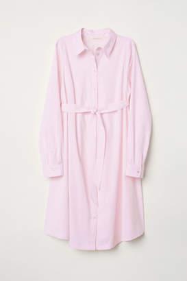 H&M MAMA Shirt Dress - Pink