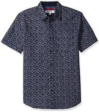 ProjekRaw Projek Raw Men's Mini Print Woven Shirt