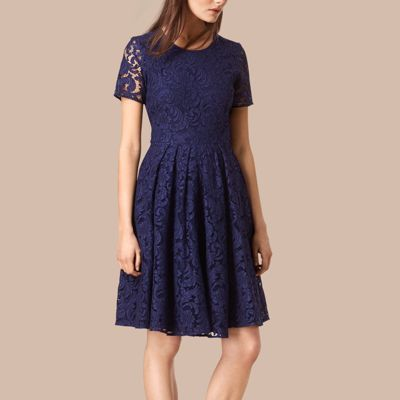 Burberry  Burberry French Lace A-line Dress