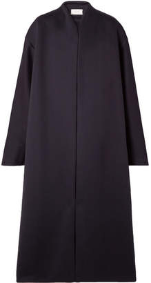 The Row Maiph Oversized Scuba Coat - Navy