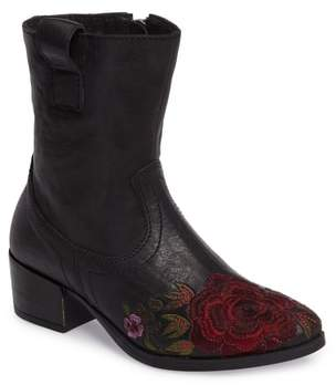 Sheridan MIA Shallot Floral Embroidered Bootie