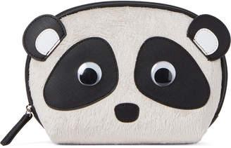 Stella & Max Furry Panda Cosmetic Case