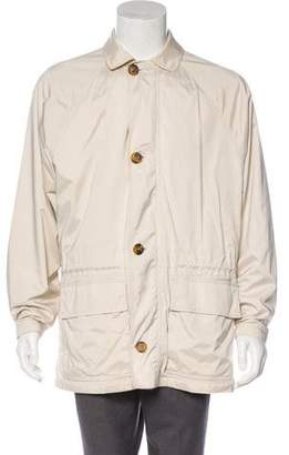 Loro Piana Horsey Point Collar Jacket