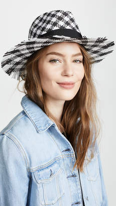 Kate Spade Gingham Trilby Hat
