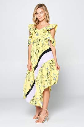 Josie Racine Pleat-Romantic Dress