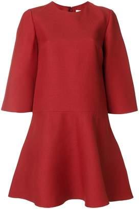 Valentino flared short dress