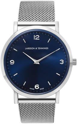 Larsson & Jennings LGN38-CM-H-Q-P-SN-O Lugano 38 Mesh Watch