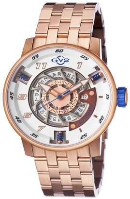 Gevril Men's Motorcycle Sport Swiss Automatic Bracelet Watch, 48mm