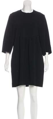 Isabel Marant Crepe Bell Sleeve Dress