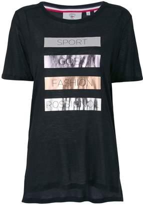 Rossignol laminated print T-shirt