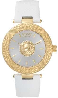 Versace VERSUS VERSUS by Brick Lane Leather Strap Watch, 40mm