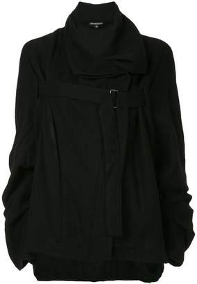 Ann Demeulemeester asymmetric oversized jacket